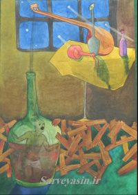 نقاشی های هنرجویان بزرگسال